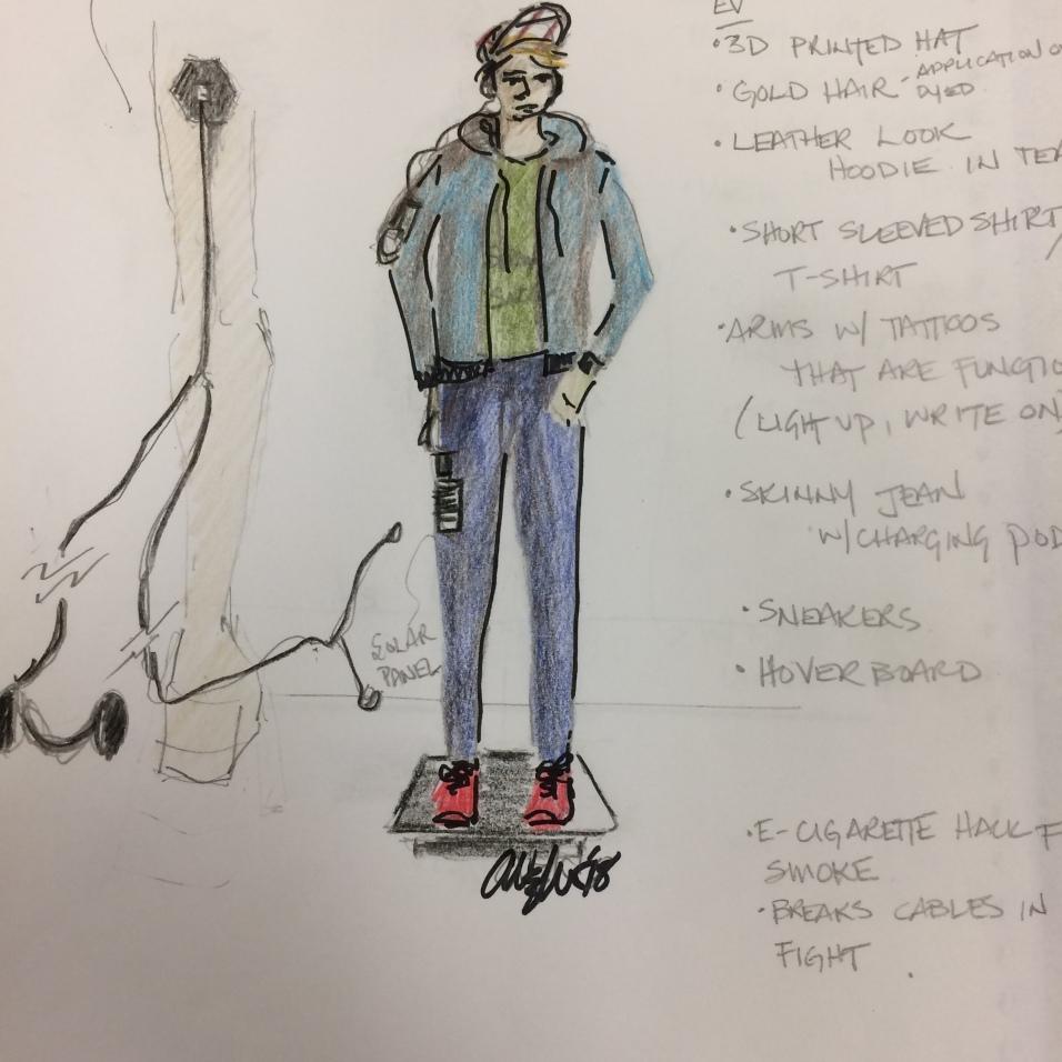 Ev Sketch