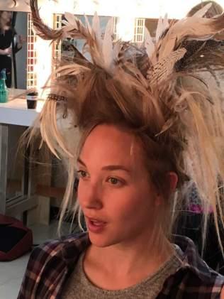 Fitting the Headdress