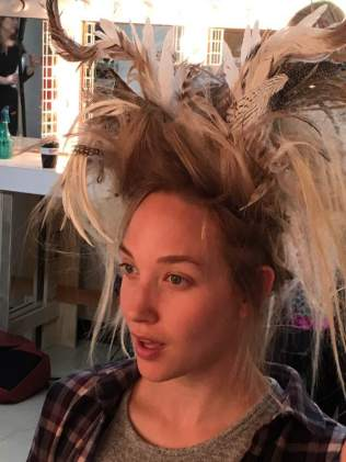 Fitting the Headdress